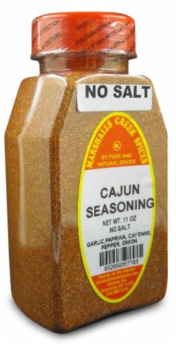 Marshalls Creek Kosher Spices CAJUN SEASONING NO SALT 11 oz Perspective: front