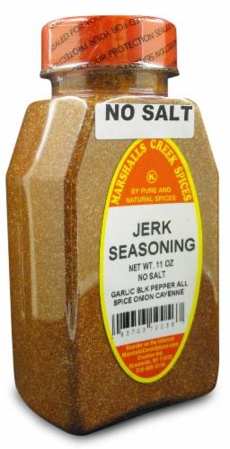 Marshalls Creek Kosher Spices JERK SEASONING NO SALT 11 oz Perspective: front