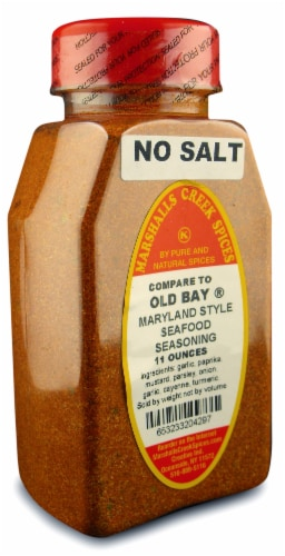 Marshalls Creek Kosher Spices MARYLAND STYLE SEAFOOD, NO SALT(COMPARE TO OLD BAY®11oz Perspective: front