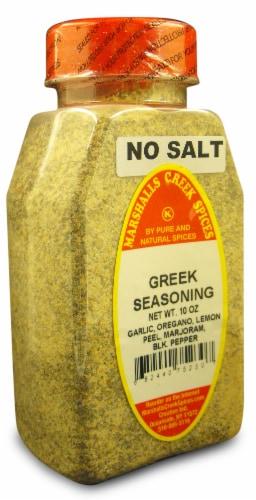 Marshalls Creek Kosher Spices  NEW GREEK SEASONING, NO SALT 10 oz Perspective: front