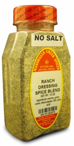Marshalls Creek Kosher Spices RANCH DRESSING SPICE BLEND NO SALT 10 oz Perspective: front