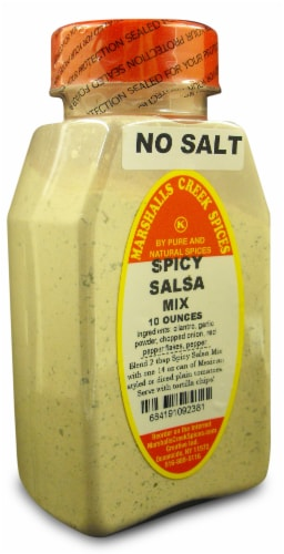 Marshalls Creek Kosher Spices SPICY SALSA SPICE MIX 10 oz Perspective: front