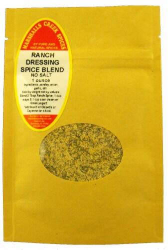 Sample Size, EZ Meal Prep  Ranch Dressing Spice Blend No Salt Ⓚ Perspective: front