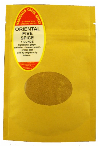 Sample Size, EZ Meal Prep Oriental Five Spice Ⓚ Perspective: front