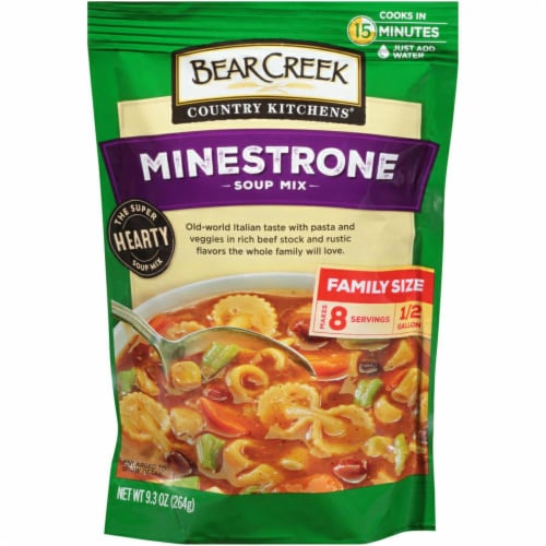 Bear Creak Minestrone Soup Mix Perspective: front