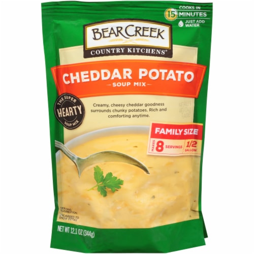 Bear Creek Country Kitchens Cheddar Potato Soup Mix Perspective: front