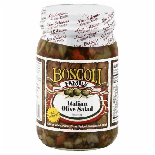 Boscoli Family Italian Olive Salad Perspective: front