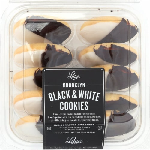 Lilly's Brooklyn Black and White Cookies Perspective: front