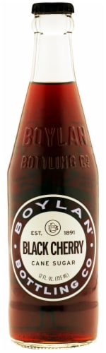 Boylan Black Cherry Soda Perspective: front
