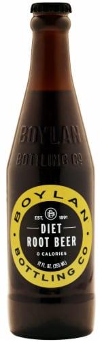 Boylan® Diet Root Beer Perspective: front
