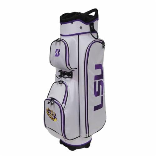 Bridgestone P921GA Bridgestone NCAA Golf Cart Bag-Georgia Perspective: front