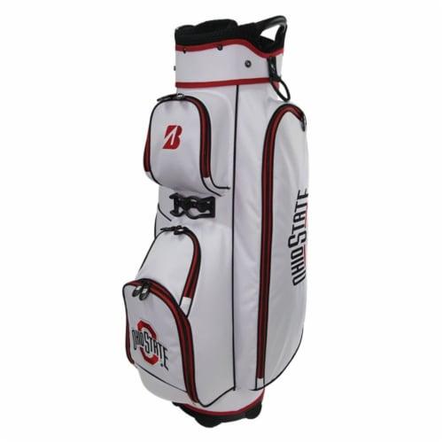 Bridgestone P921OS Bridgestone NCAA Golf Cart Bag-Ohio State Perspective: front