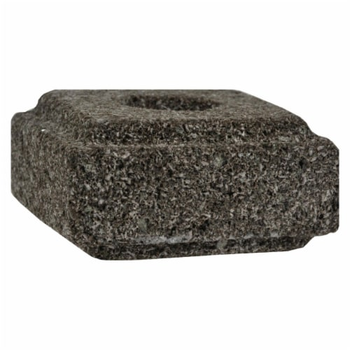 Aloha Bay - Taper Candle Holder Lava Stone - 1 Candle Holder - Pack of 3 Perspective: front