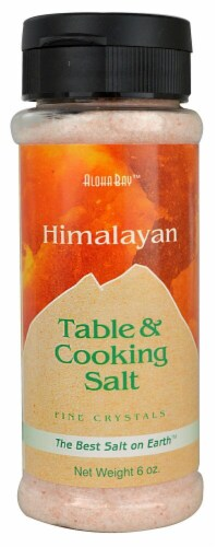 Aloha Bay Fine Crystals Himalayan Table & Cooking Salt Perspective: front