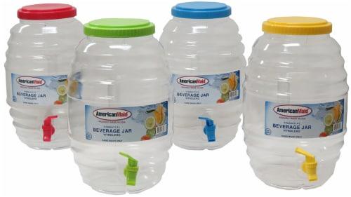 American Maid 3-Gallon Honey Comb Jar Perspective: front