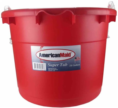 American Maid® Tub with Rope Handle Perspective: front