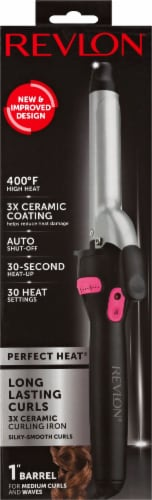 Revlon Perfect Heat Ceramic Curling Iron Perspective: front