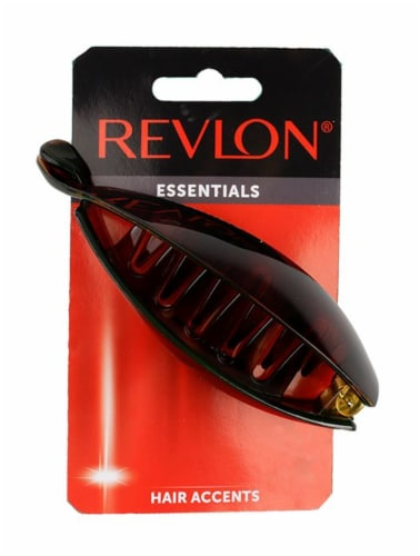 Revlon Essentials Natural Styles Claw Clip Perspective: front