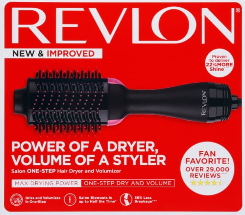 Revlon Pro Collection Salon One-Step Hair Dryer & Volumizer Perspective: front