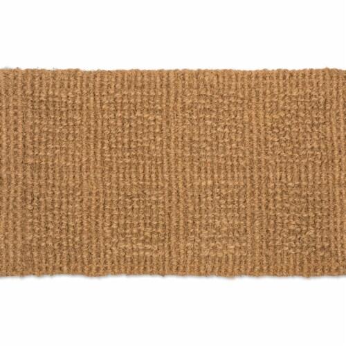 Design Imports 7723 18 x 30 in. Plain Tile Loop Coir Doormat Perspective: front