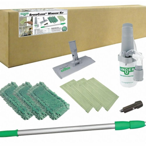 Unger Window Cleaning System,Aluminum,72 L  CK053 Perspective: front