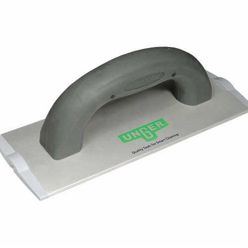 Unger Pad Holder,Aluminum,Gray  PHD20 Perspective: front