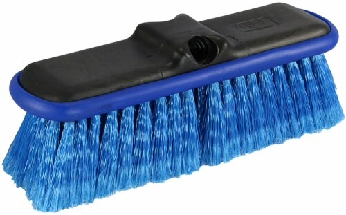Unger HydroPower Wash Brush - Blue Perspective: front