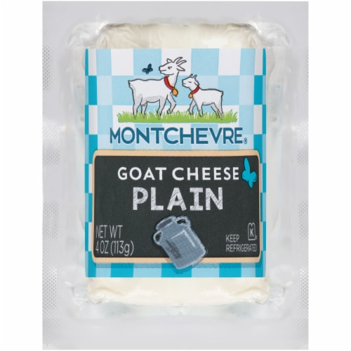 Montchevre Natural Goat Cheese Log Perspective: front