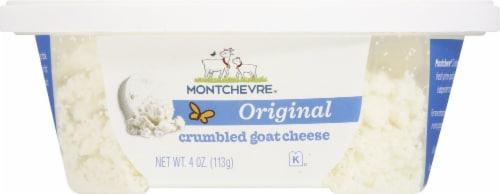 Montchevre Original Crumbled Goat Cheese Perspective: front