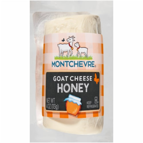 Montchevre Honey Goat Cheese Perspective: front