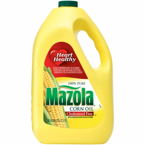 Mazola 100% Pure Corn Oil Perspective: front