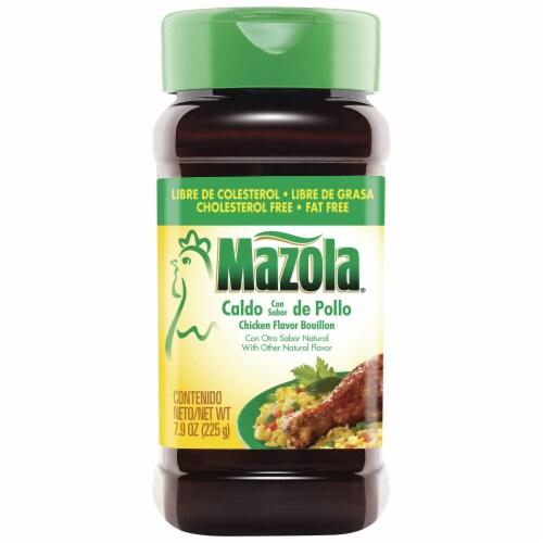 Mazola Chicken Flavor Bouillon Perspective: front