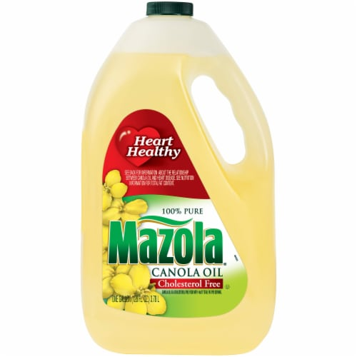 Mazola® Pure Canola Oil Perspective: front