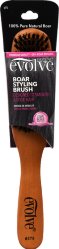Evolve Boar Styling Brush Perspective: front