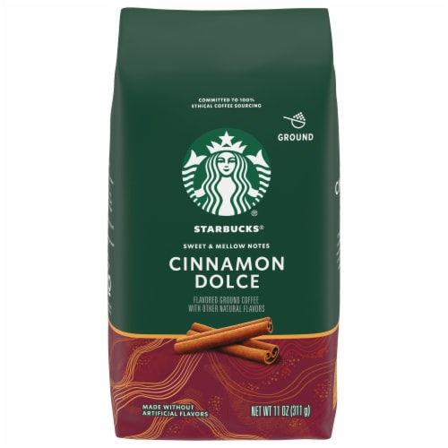 Starbucks Cinnamon Dolce Ground Coffee Perspective: front