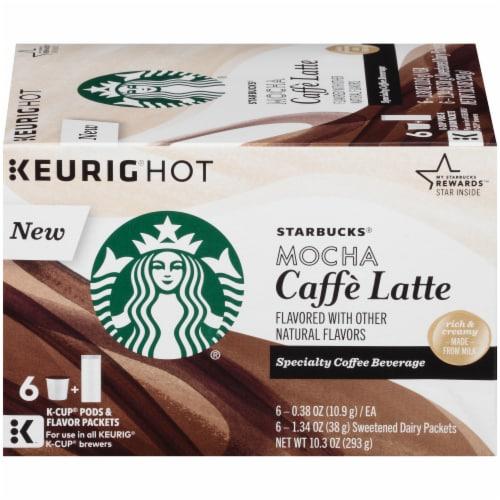 Kroger Starbucks Mocha Caffe Latte K Cups Pods Flavor