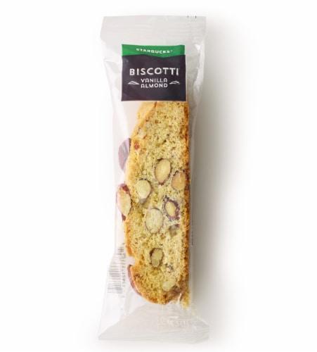 Starbucks Vanilla Almond Biscotti Perspective: front