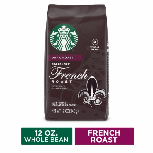 Starbucks French Dark Roast Whole Bean Coffee Perspective: front