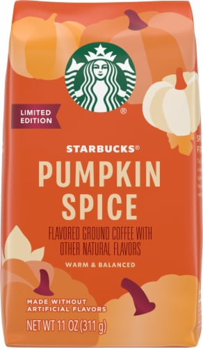 Starbucks® Limited Edition Pumpkin Spice Flavored Ground Coffee Perspective: front