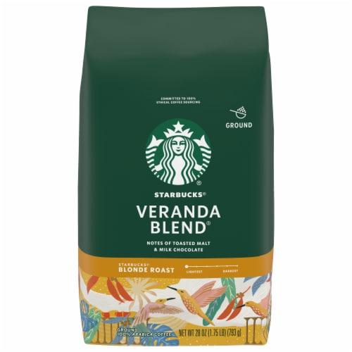 Starbucks Veranda Blend Ground Coffee Perspective: front
