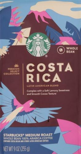 Starbucks Costa Rica Medium Roast Whole Bean Coffee Perspective: front