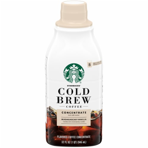 Starbucks Madagascar Vanilla Cold Brew Coffee Concentrate Perspective: front