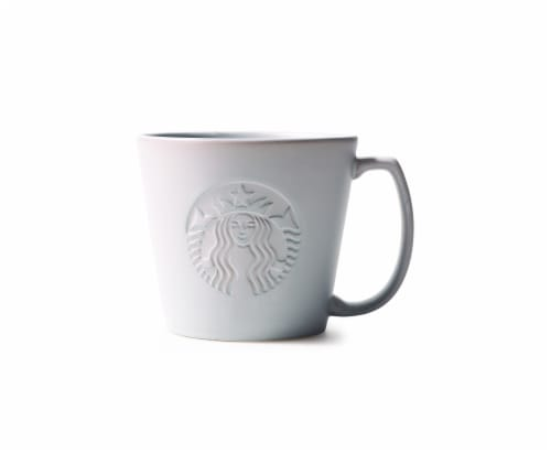 Starbucks Ceramic Mug - White Flow Perspective: front