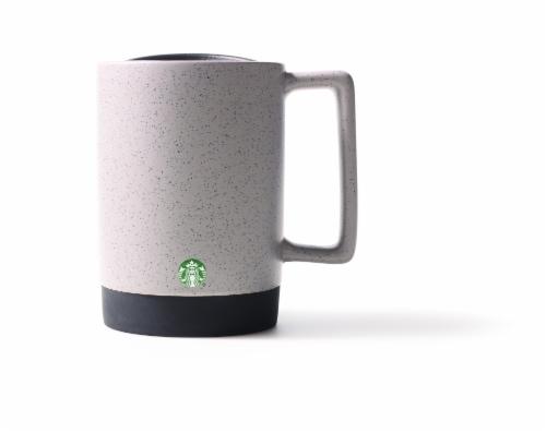 Starbucks Desktop Ceramic Mug - Mottled Concrete Perspective: front