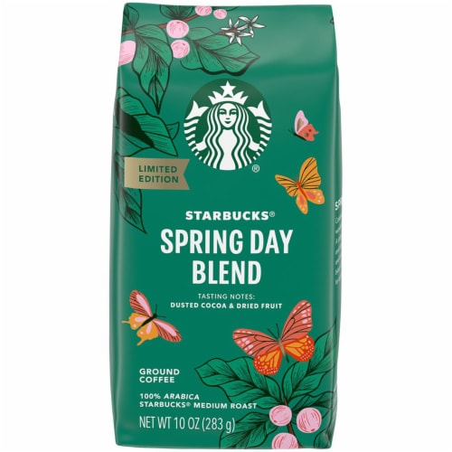 Starbucks Spring Day Blend Ground Coffee Perspective: front