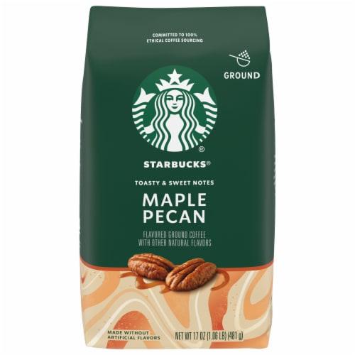 Starbucks Maple Pecan Ground Coffee Perspective: front