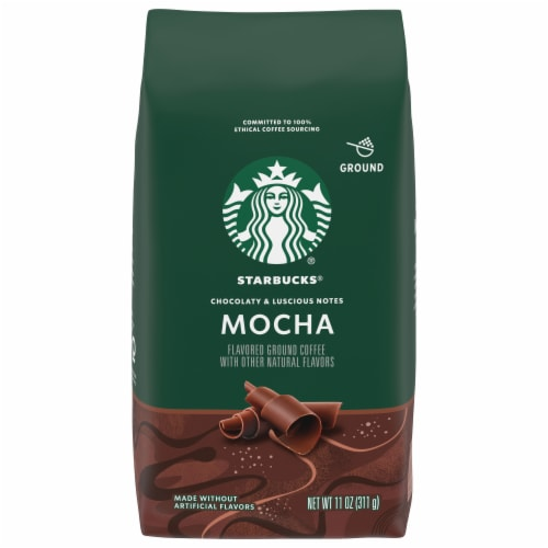 Starbucks Mocha Flavored Ground Coffee Perspective: front