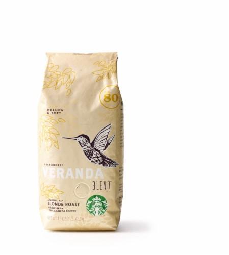 Starbucks Veranda Coffee Perspective: front