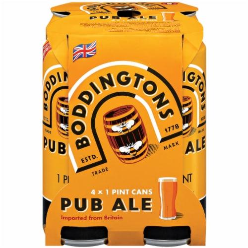 Boddington's Brewery Pub Ale Perspective: front