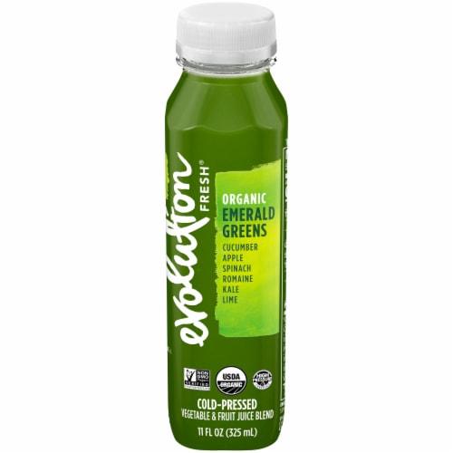 Evolution Fresh Organic Emerald Greens Juice Blend Perspective: front